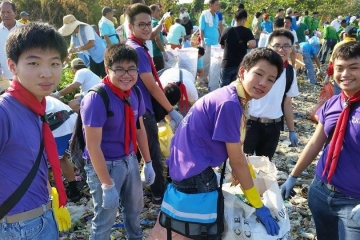 CKSian Scouts Care for the Environment