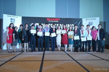 Clyde Ang Chosen as NCR Outstanding Young Mathematician